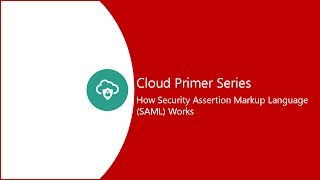 11. How Security Assertion Markup Language (SAML) works video thumbnail