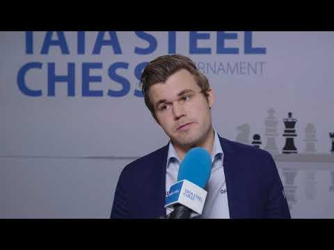 Magnus Carlsen - Post Round 9 Interview
