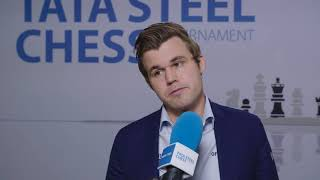 Magnus Carlsen - Post Round 9 Interview