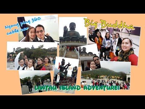 vlog#4 LANTAU ISLAND HONG KONG! NGONG PING 360