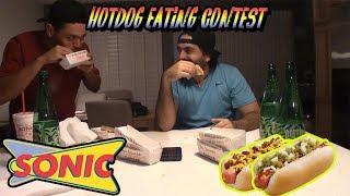 WORLD CLASS HOTDOG EATERS!! (Sonic $1 Hotdogs)