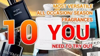 TOP 5 MOST VERSATILE FRAGRANCES FOR ALL SEASON ALL OCCASION
