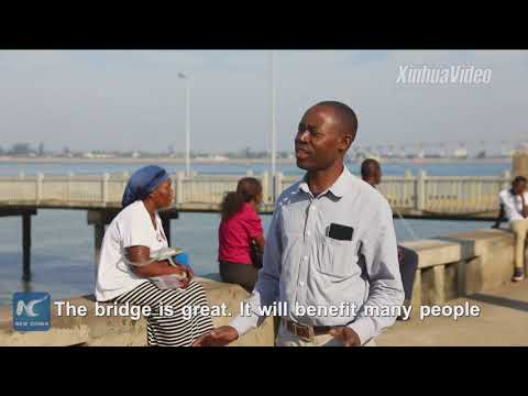Biggest in Africa! Chinese-built bridge about to open in Mozambique