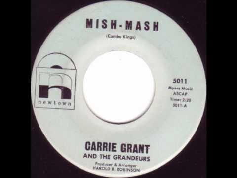 CARRIE GRANT - Mish Mash R&B Popcorn 45 rpm
