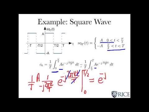 Fundamental of Electrical Engineering: W4L1  Fourier Series