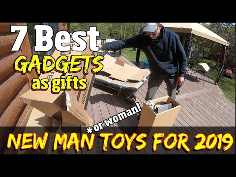 7 Best Cool Gadgets & Inventions Of 2019  To Give As Gifts-  Tools, Grills, Camping Gear  & More