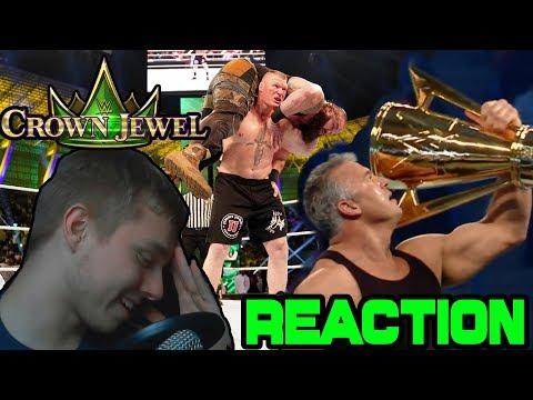 WWE Crown Jewel 2018 Live Reactions.... | SCHLECHT | MarcSarpei