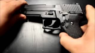 KJW P226 Review & Shooting Test