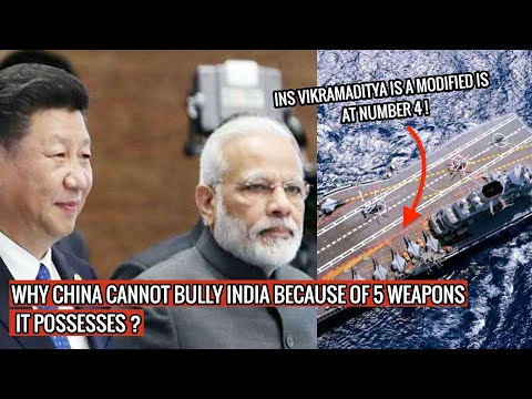 INDIA HAS SEVERAL WEAPONS THAT CAN STOP CHINA IN ITS TRACK! TOP 5 LIST