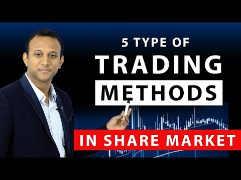 5 Types Of Trading Methods