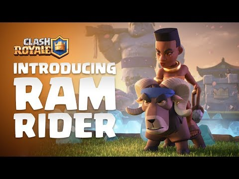 Clash Royale: Introducing Ram Rider! 🐏🌿💪🏾 (NEW LEGENDARY CARD)