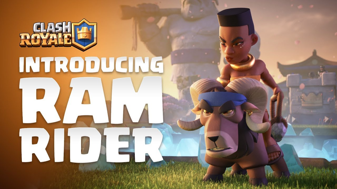 Clash Royale Introducing Ram Rider 🐏🌿💪🏾 NEW LEGENDARY CARD