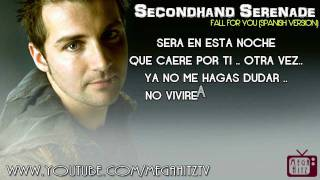 Seconhand - Fall For You ☆Spanish • Lyrics HD☆