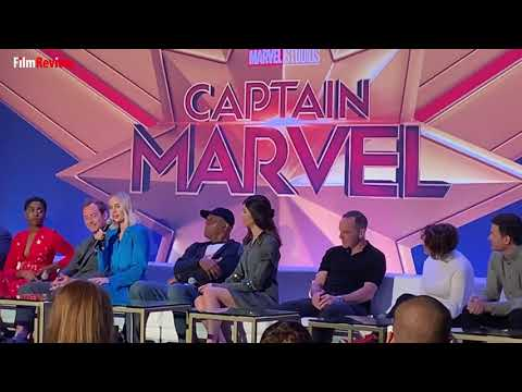 Captain Marvel Press Conference - Brie Larson on why she loved the character of Captain Marvel