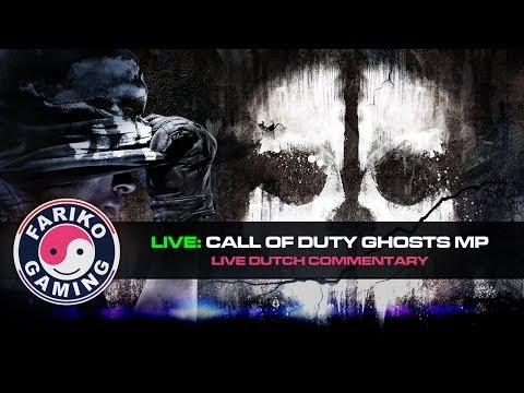 [LIVE] Call of Duty: Ghosts Livestream - Dutch Live Commentary
