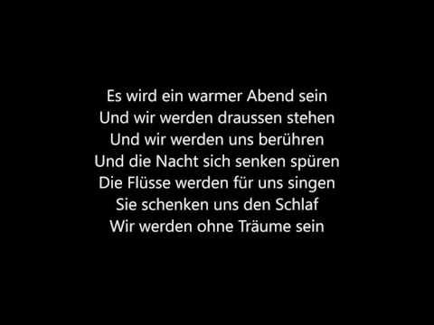 Kante - Warmer Abend (Songtext)