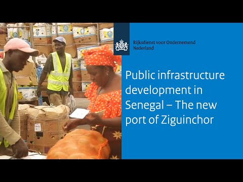 Public infrastructure development in Senegal – The new port of Ziguinchor