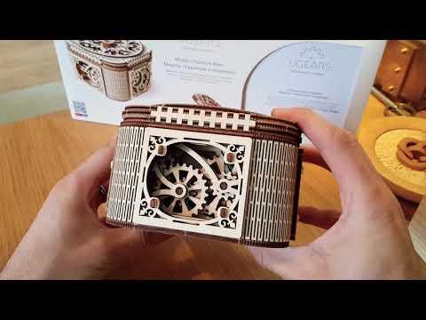 Treasure Box - UGears - Laser Cut Puzzle Box
