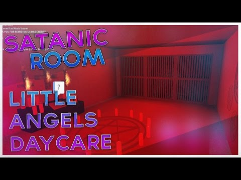 FOUND A SATANIC ROOM/RITUAL IN LITTLE ANGELS DAYCARE?!?! I ROBLOX