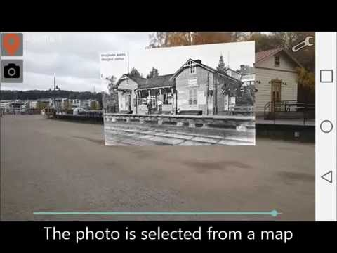 Augmented Reality Historical Photos in Lahti