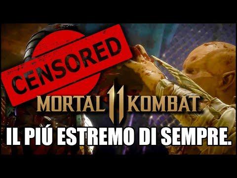 Mortal Kombat 11 GAMEPLAY! Non avete idea di quanto sia ASSURDO!
