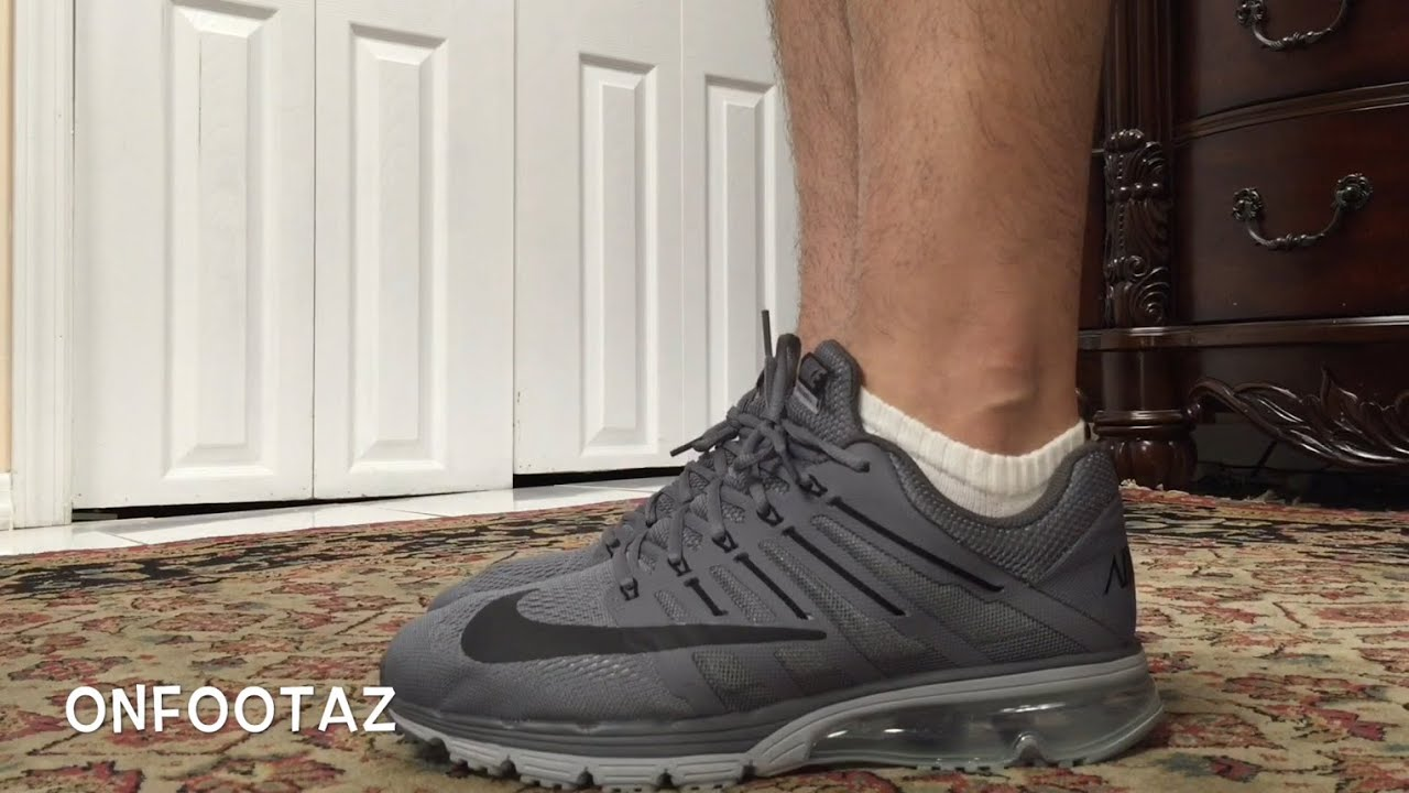 online store 2a7c1 c77b3 Nike Air Max Excellerate 4 Grey On Foot