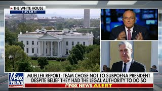 Giuliani on Mueller: 'big victory is no collusion'