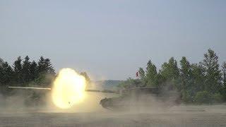 活躍する自衛隊 第2戦車連隊練成射撃訓練