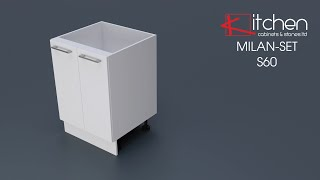 [MILAN-SET] Assembly Video for 600mm Base Cabinet
