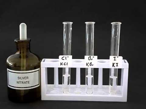 separating iodine and sodium chloride
