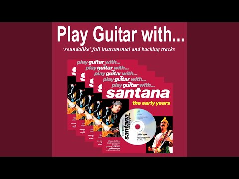 Samba Pa Ti (Backing Track only without Guitar)