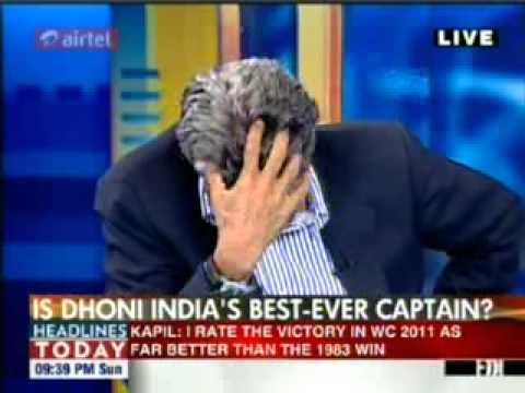Kapil Dev lauds DADA & CRIES after winning the WORLD CUP.mp4