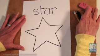 Teaching Kids How to Draw: How to Draw a Star(http://www.youngrembrandts.com Bette Fetter, founder and CEO of Young Rembrandts and author of Being Visual, demonstrates how to draw a star., 2013-06-05T16:29:27.000Z)