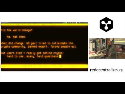 Redecentralize Conf 2015 - 4. Cyberpunk to Blockchains - Vin