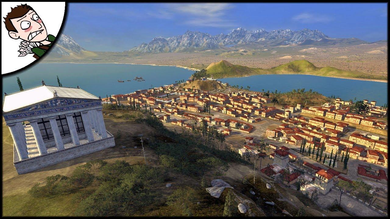 Custom Cities in Ancient Empires Look AMAZING! (Total War Attila Mod  Gameplay)