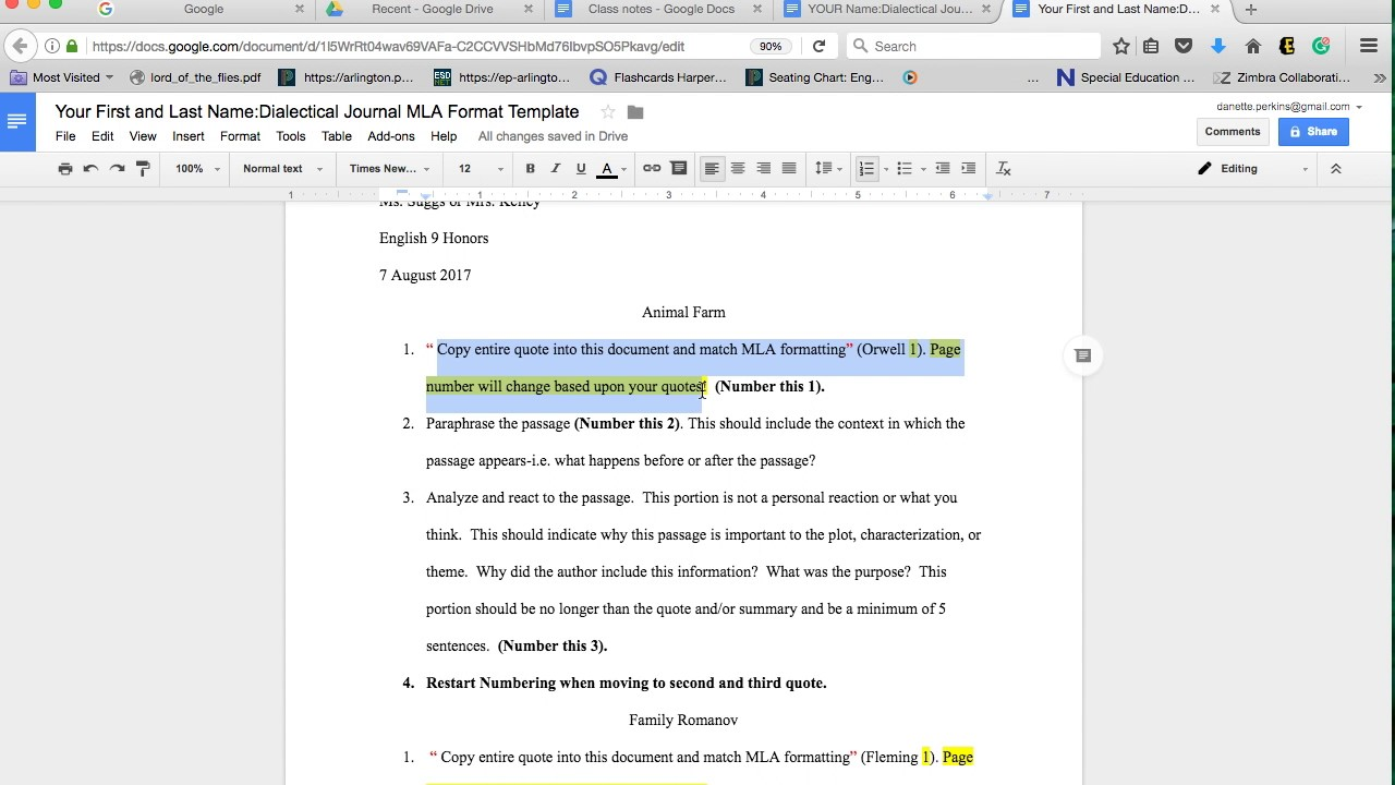 Using google docs for summer reading dialectical journals youtube using google docs for summer reading dialectical journals altavistaventures Gallery