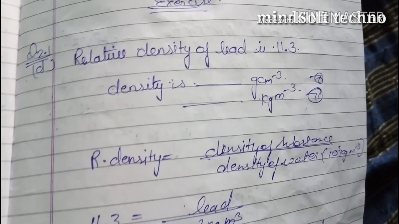 11th Class Physics volume 1  Topper student notes