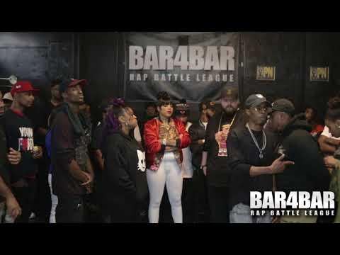 BAR4BAR RAP BATTLE LEAGUE PRESENTS - BLACKKOUT VS ATG