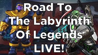 Road To The Labyrinth of Legends Chapter 4.1, 4.2 and 4.3 - Marvel Contest of Champions