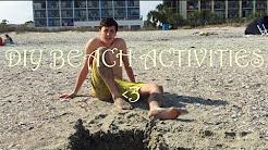 Fun + Easy DIY Beach Activities!!! || DivosVideos