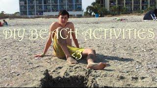 Fun + Easy DIY Beach Activities!!!    DivosVideos