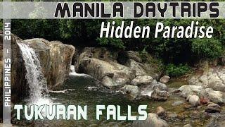 Puerto Galera Philippines Hidden paradise Tukuran falls June 2014
