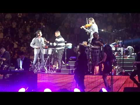 """Marc Anthony, """"Hasta Ayer,"""" Prudential Center, 2/14/15"""