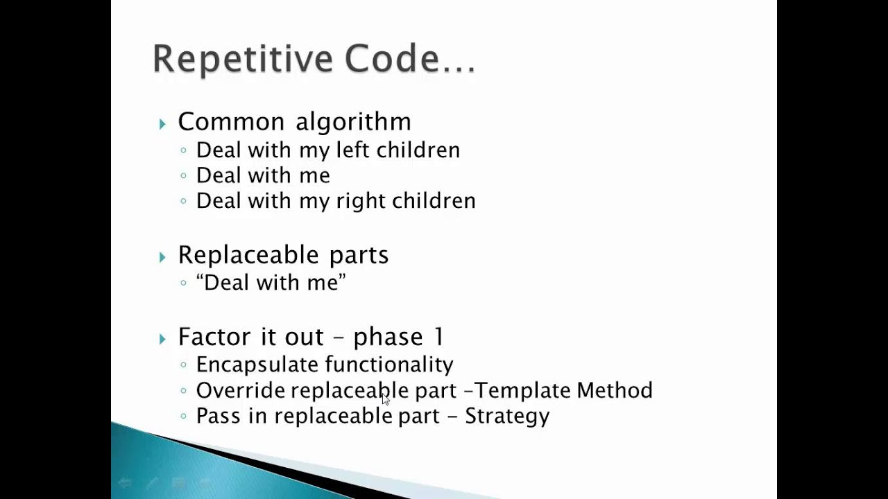 Design Patterns Session 5 (Template Method, Strategy, Null Object ...