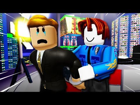 He Was Arrested By A Noob?! (A Roblox Movie)