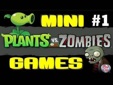 Мини-игры Растения против Зомби (Plants VS Zombies)