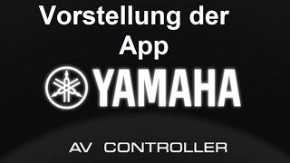 Gambar cover Yamaha AV Controller App Vorstellung Review