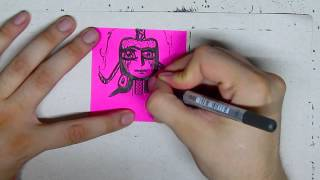 Speed Drawing - Draw and Post it - # 207