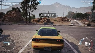 Need for Speed Payback - Mazda RX-7 Abandoned Car Location and Customization