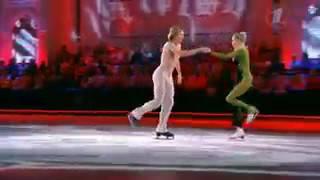 Ледниковый период  Оксана Домнина и Иван Скобрев   победителей 27 12 2014